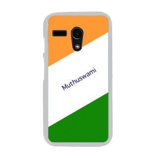 Flashmob Premium Tricolor DL Back Cover Motorola Moto G -Muthuswami