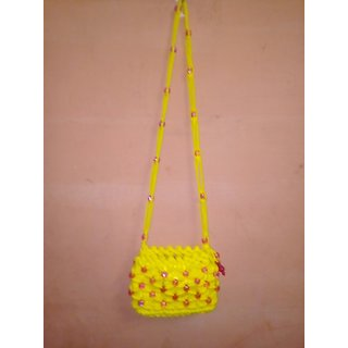 cross body handmade beads purses
