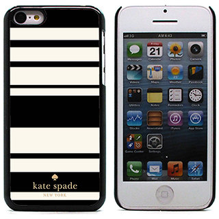 Unique Customise Design of Kate Spade Stripe Pattern for Apple iPhone 5C
