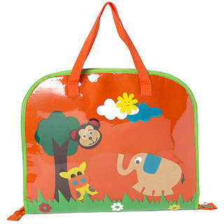 Lill Pumpkin orange jungle Drawing bags