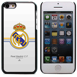 Unique Customise Design of Real Madrid for Apple iPhone 5/5S