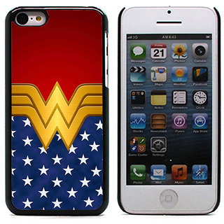 Unique Customise Design of Wonder Woman for Apple iPhone 5C