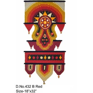Handloom Cotton wall Hanging for home Dcor 34