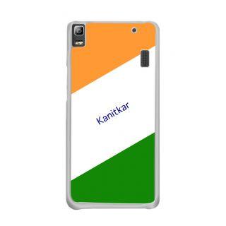 Flashmob Premium Tricolor DL Back Cover Lenovo A7000 -Kanitkar
