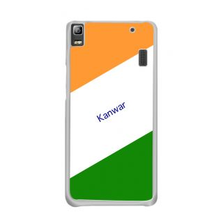 Flashmob Premium Tricolor DL Back Cover Lenovo A7000 -Kanwar