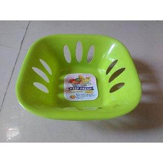 High quality fruit bowl Green color(set of 2)