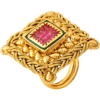 Jay Shreeya Creations Appealing Copper Ring