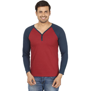 Jangoboy Mens Multi V-neck Casual T-Shirt