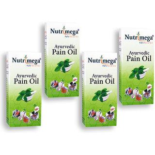 Nutrimega Ayurvedic Pain relief oil (45mlx4)