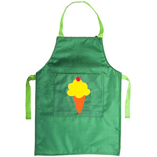 Lill Pumpkins Dark Green Icecream parachute Aprons