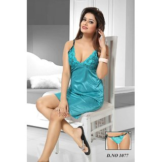 bd7e144457 Buy Night Wear Colour Sky Blue Online - Get 59% Off