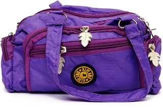 varsha fashion accessories women potli bag purple