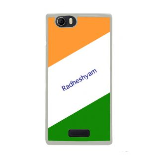 Flashmob Premium Tricolor DL Back Cover Micromax Nitro 2 E311 -Radheshyam