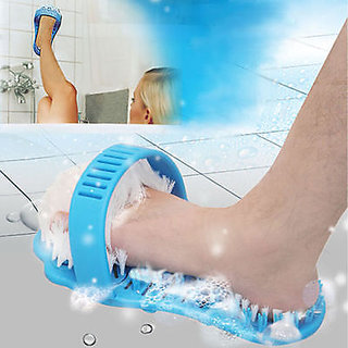 Easy Feet Bath  Shower Foot Scrubber to Clean and Remove Callus