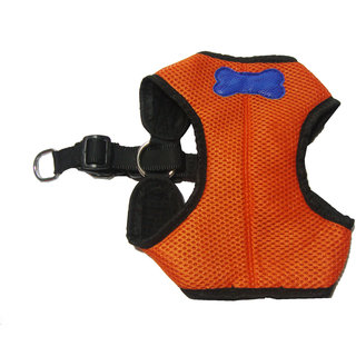 Agnpetspot. Dog Canvas Chest Padded Harness Large