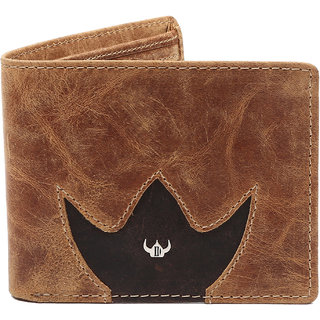 DHide Multicolor Pure Leather Single fold Wallet for Men