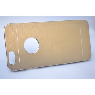 I-PHONE 5/5S METAL PLATED GOLDEN COVER