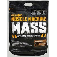 GRENADE Muscle Machine Mass Chocolate 12.6 Lbs Bag