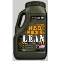 GRENADE Muscle Machine Lean Strawberry 4 Lbs Jerry Can