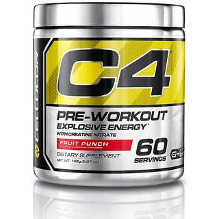 Cellucor C4 Gen 4 Fruit Punch - 60 Serv