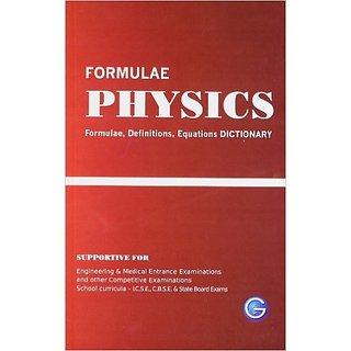 Physics formulae Definitions, Equation DICTIONARY