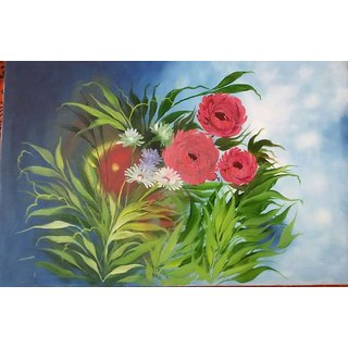 Flowers Of Dreams Beautiful Oil Painting
