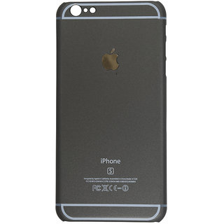 Iphone 6 Plus Grey Plain Back Cover