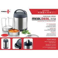 Meal Deal Insulated SS Lunch Box 2 Con.