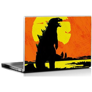 Seven Rays Dinosaur laptop Skin