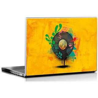 Seven Rays Vinyl Art Laptop Skin