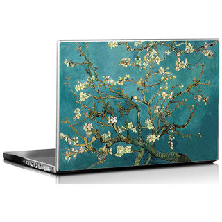 Seven Rays Gustav Klimt's Turquoise Almond  Laptop Skin