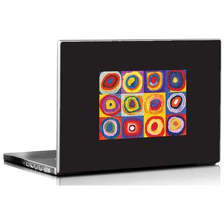 Seven Rays Kadinsky's Circles 01 Laptop Skin