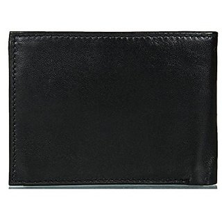 mens black regular coin wallet