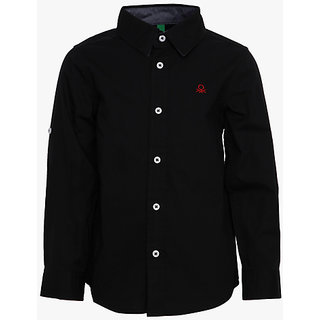 Black Casual Shirt for man