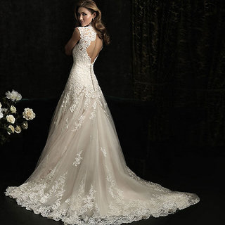 KHUSBOO DESIGNER Designed NEW BRANDED STEER MADONNA DESIGNER BRIDAL WEDDING V-SHAPE COCKTAIL PARTY GOWN