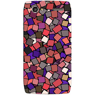 Oyehoye Pattern Style Printed Designer Back Cover For Motorola RAZR V XT885 Mobile Phone - Matte Finish Hard Plastic Slim Case