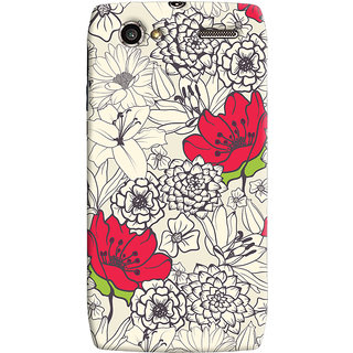 Oyehoye Floral Pattern Style Printed Designer Back Cover For Motorola RAZR V XT885 Mobile Phone - Matte Finish Hard Plastic Slim Case