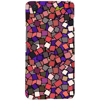 Oyehoye Pattern Style Printed Designer Back Cover For OnePlus X Mobile Phone - Matte Finish Hard Plastic Slim Case