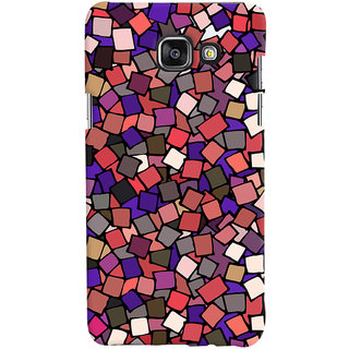 Oyehoye Pattern Style Printed Designer Back Cover For Samsung Galaxy A5 A510 (2016 Edition) Mobile Phone - Matte Finish Hard Plastic Slim Case