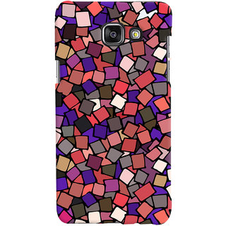 Oyehoye Pattern Style Printed Designer Back Cover For Samsung Galaxy A7 A710 (2016 Edition) Mobile Phone - Matte Finish Hard Plastic Slim Case