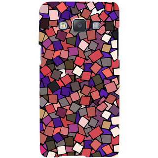 Oyehoye Pattern Style Printed Designer Back Cover For Samsung Galaxy A7 (2015) Mobile Phone - Matte Finish Hard Plastic Slim Case
