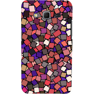 Oyehoye Pattern Style Printed Designer Back Cover For Samsung Galaxy Core Prime G360 Mobile Phone - Matte Finish Hard Plastic Slim Case