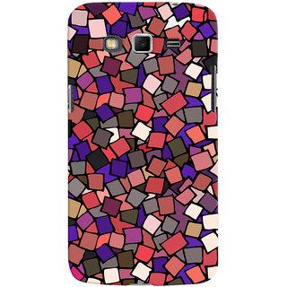 Oyehoye Pattern Style Printed Designer Back Cover For Samsung Galaxy Grand 2 G7106 Mobile Phone - Matte Finish Hard Plastic Slim Case