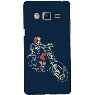 Oyehoye Bikers Or Riders Choice Printed Designer Back Cover For Samsung Galaxy Z3 Mobile Phone - Matte Finish Hard Plastic Slim Case