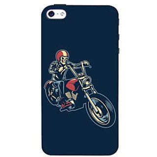 Oyehoye Bikers Or Riders Choice Printed Designer Back Cover For  4 Mobile Phone - Matte Finish Hard Plastic Slim Case