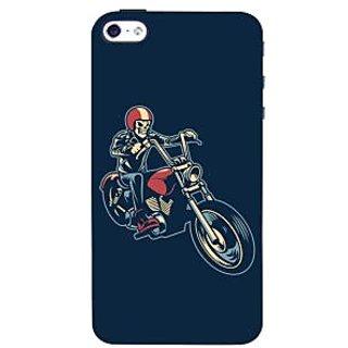 Oyehoye Bikers Or Riders Choice Printed Designer Back Cover For  4S Mobile Phone - Matte Finish Hard Plastic Slim Case