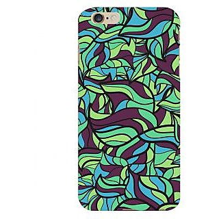 Oyehoye Modern Art Pattern Style Printed Designer Back Cover For  6 Plus Mobile Phone - Matte Finish Hard Plastic Slim Case