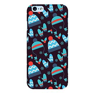 Oyehoye Winter Pattern Style Printed Designer Back Cover For  6S Mobile Phone - Matte Finish Hard Plastic Slim Case
