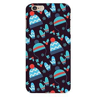 Oyehoye Winter Pattern Style Printed Designer Back Cover For  6S Plus Mobile Phone - Matte Finish Hard Plastic Slim Case