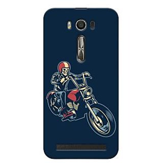 Oyehoye Bikers Or Riders Choice Printed Designer Back Cover For Asus Zenfone 2 Laser ZE500KL Mobile Phone - Matte Finish Hard Plastic Slim Case